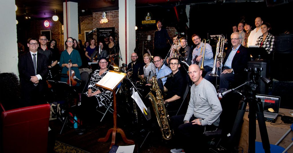 Daniel Hersog Jazz Orchestra at Pat's Pub Nov 10th 2017